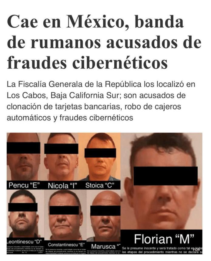 Resultado de imagen de romanos detenido en cancun
