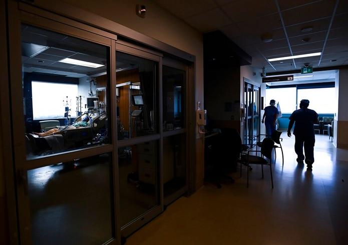 Imagen de un hospital.