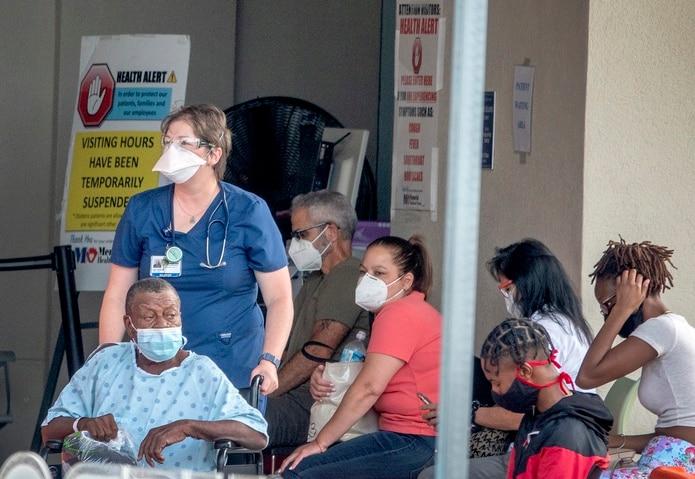 Nuevo récord de muertes en Florida por COVID-19