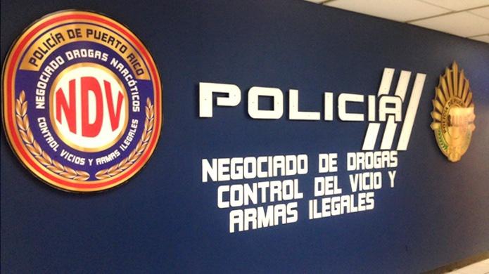 Tres agentes de drogas resultan lesionados cuando se disponían allanar una residencia cuando un sujeto les impacto su patrulla para intentar huir en Guayama
