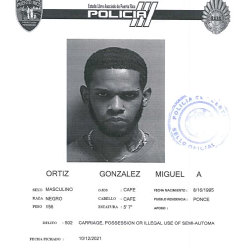 Radican cargos contra un hombre por violar la Ley de Armas en Ponce