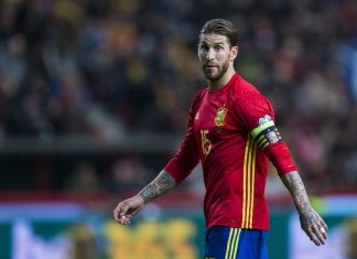 Sergio Ramos publica un video en Twitter defendiendo el sello de Raheem Sterling.