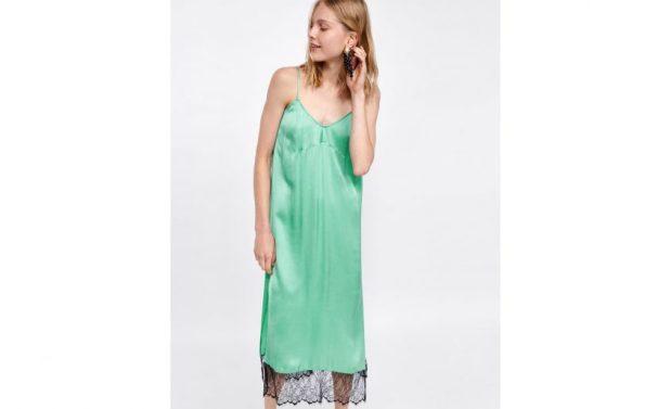 Zara slip-ons (zara.com - 39, 95 euros) [19659006] Sl ip dress Zara (zara.com - 39.95 euros) </figcaption data-recalc-dims=