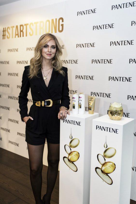 Chiara Ferragni Embajadora mundial de Pantene
