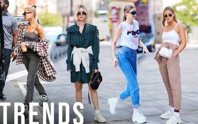 Tendencias: las grandes zapatillas están vivas y son verdaderas para el otoño-invierno de 2018.
