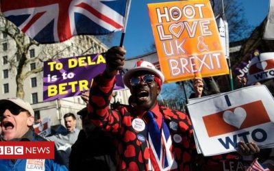 Los parlamentarios de Brexiteer dicen que el retraso sería una calamidad política