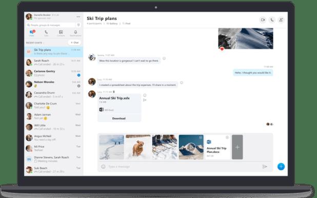 Nuevas características de Skype 3b