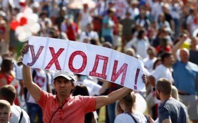 Protestas en Bielorrusia: los trabajadores abuchean a Lukashenko mientras se propagan los disturbios electorales
