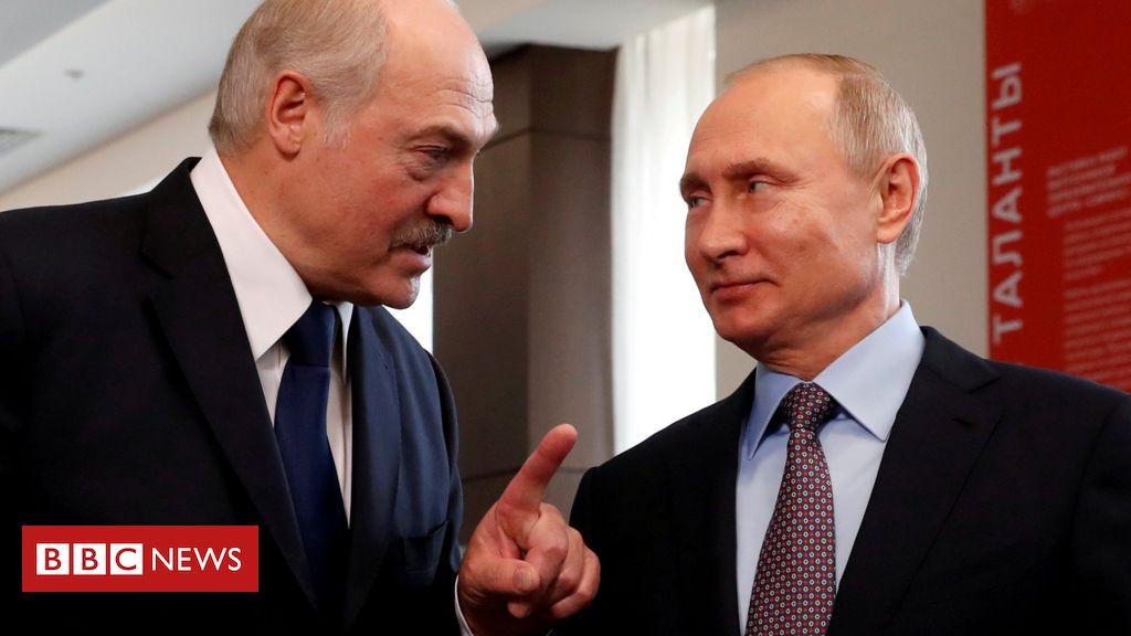 Protestas en Bielorrusia: Putin promete un préstamo de 1.500 millones de dólares en la reunión de Lukashenko