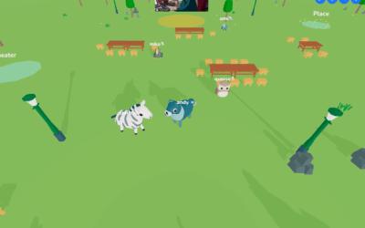 Es asustadizo es lo que obtendrías si cruzaras Clubhouse con Animal Crossing