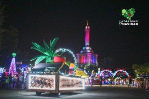 A partir del 14 de diciembre vuelve El Corazón De la Navidad Al Monumento de Santiago