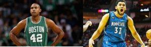 Al Horford y Karl Towns iràn al juego de Estrellas de la NBA