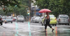 Lluvias débiles y dispersas para algunas provincias en la tarde