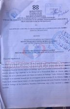 Documento de la querella contra Kelvin Núñez alias Kanqui