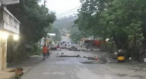 Protestan en comunidades de Baitoa por agua potable