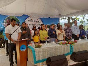 UERS promueve desarrollo rural, con entrega de Micro-Hidroeléctrica  en Santiago Rodríguez