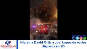 Video: Hieren de un tiro a David Ortiz en un bar de la Venezuela