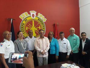 Cuerpo de Bomberos de Santiago seran instruidos para el modelo de calidad de gestión