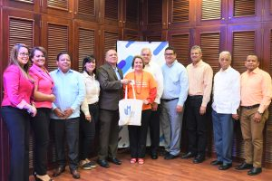 CORAASAN sostiene encuentro con rectora Universidad de Matanzas, Cuba