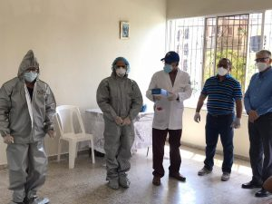 Director Gabinete Presidencial de Abinader ofrece detalles de segundo hospital provisional que se está instalando en Villa Vásquez