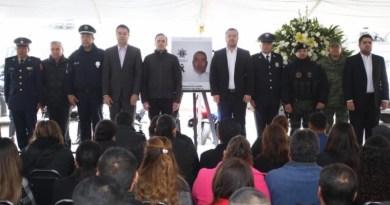 Honra Municipio de Saltillo memoria de Policía fallecido