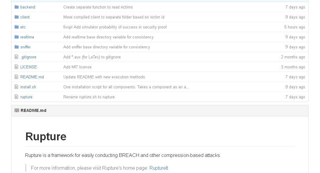 compression based attacks