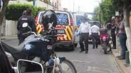 Atropella a motociclista y se da a la fuga