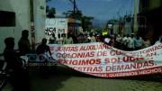Marcha Antorcha Campesina en Coxcatlán