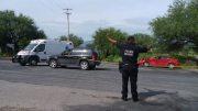 Chocan en la carretera Tehuacán - Teotitlán, solo daños materiales
