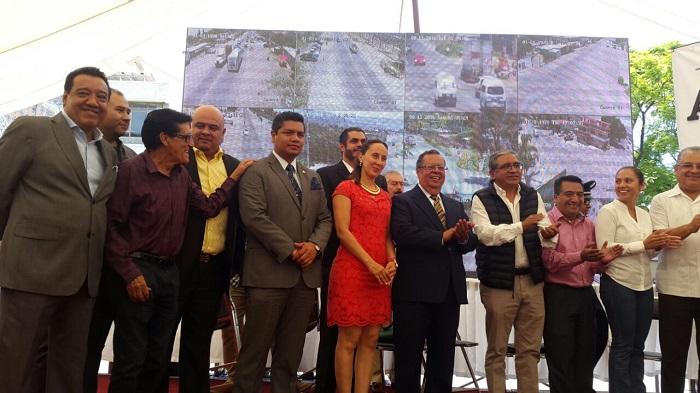 Se intalan 177 cámaras de seguridad en Tehuacán.
