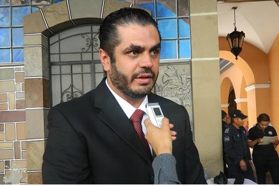 Felipe Patjane Martinez, presidente del consejo ciudadano de seguridad y justicia en Tehuacán