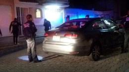 Llevaban armas de grueso calibre en un auto particular