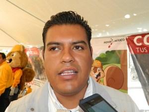 Misael García Hernández, Jefe de Protección Forestal de la CONAFOR en Puebla