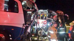Accidente en Autopista deja 4 muertos