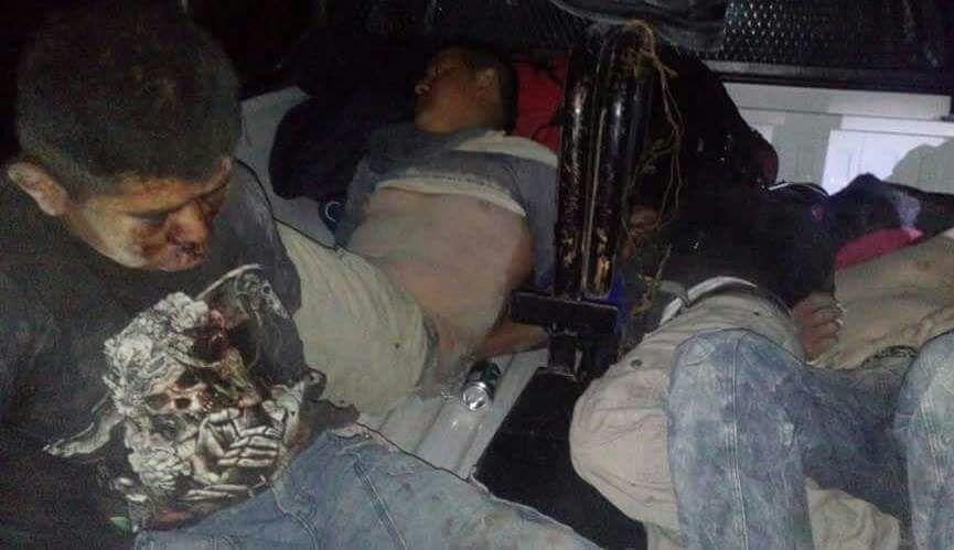 Rescataron a presuntos ladrones golpeados en Azumbilla