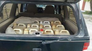 Camioneta Transportaba Gasolina Robada