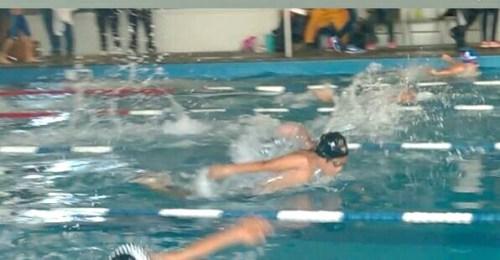 Toño Rodríguez, primero en 50 metros estilo mariposa