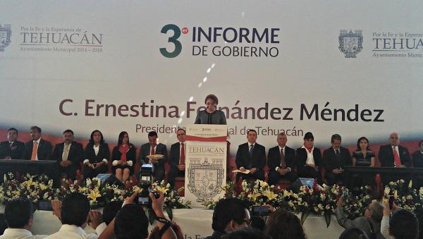 Tercer Informe de Gobierno Municipal de Tehuacán 2014-2018