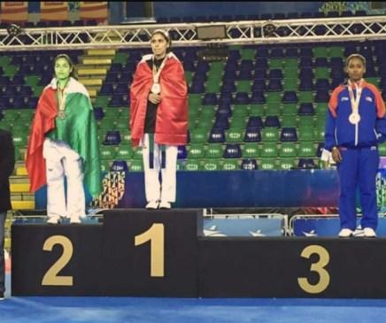Medalla de Plata Panamericano de Parataekowndo 2017