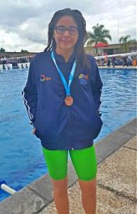 Triatleta y nadadora