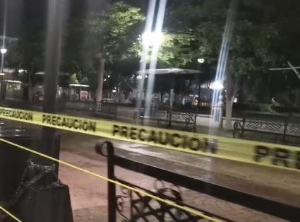 PARQUE JUÁREZ FUE CERRADO A LA POBLACIÓN COMO MEDIDA PARA DISMINUIR CONTAGIOS DE COVID 19.