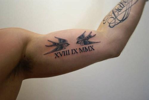 Tatuajes De Números Romanos Lo Que Necesitas Saber