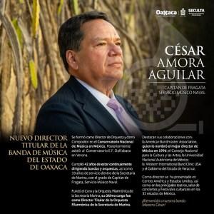 Estrena director la Banda de Música del Estado de Oaxaca