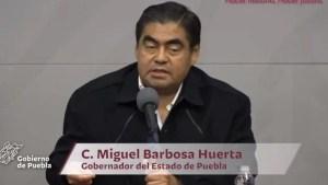 #Puebla  Mandos medios de seguridad en el estado, coludidos con delincuentes: Miguel Barbosa