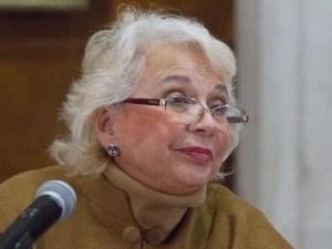 Llama Olga Sánchez Cordero a que las marchas feministas sean pacíficas