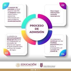 Se pospone examen de admisión al IPN