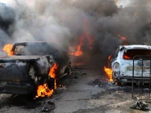 Bombazo en mercado de Siria deja hasta el momento, 35 muertos