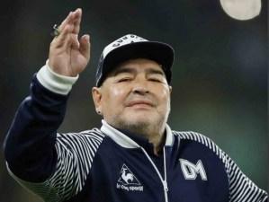 Maradona pide `mano de Dios´ contra coronavirus