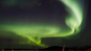 Así se ve la Aurora Boreal desde la Estación Espacial Internacional
