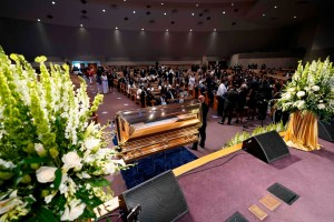 Inicia funeral de George Floyd